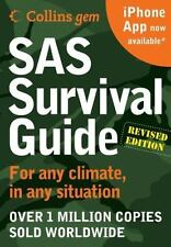 SAS Survival Guide pocket size Collins Gem by John Wiseman revised edition