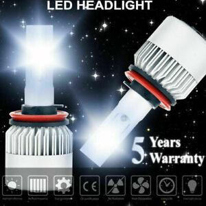 H11 H9 H8 LED Headlight 6000K White 1500W 225000LM Conversion Kit Low Beam High