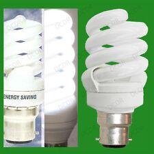 6x 11W (=40W) lumière jour 6400K Sad Ampoules Blanche Basse energie CFL, BC