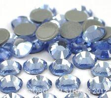 STRASS MC Stone collection 1440pz SS20 5mm Azzurro Chiaro Light Sapphire hotfix