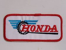 HONDA MOTORCYLES EMBROIDERED PATCH WOVEN CLOTH BADGE SEW-ON RACING BIKER JACKET
