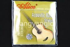 Alice A618-L Acoustic Bass Strings 4 Strings Hexagonal Core Bass Strings 040-095