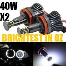 BMW 80W ANGEL EYE HALO LED Rings Markers E90 E91LCI E70 E71 E82 E87 E89 Z4 X5 X6