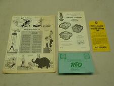 VINTAGE 1968 WHEEL HORSE DEALERS SALES TAG PAPER LOT