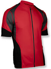 Sugoi RPM Short Sleeve Full Zip Bike Bicycle Jersey Matador Red/Black XL