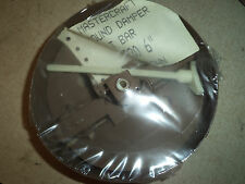 "MASTERCRAFT ROUND DAMPER 6"" BROWN WITH T BAR #8230 NOS"