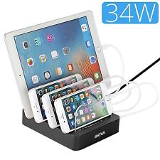 Skiva 4 Port USB Charger Portable Universal Fastest Charging Station (AC145)