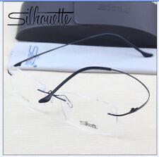 76130 Silhouette Ultra-Light Titanium Eyeglasses Frame Rimless Glasses Frame.2g