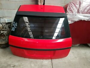 HOLDEN VE SV6 SERIES 2 COMMODORE WAGON REAR TAILGATE SHELL PC : 687F STING RED