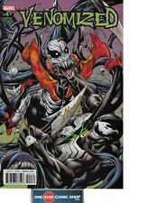 Venomized #4 CONNECTING VARIANT signed by Mark Bagley NM COA