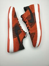 cebd715e2516 New ListingNike Men s Dunk Flyknit Low Shoes Bred Chile Red Black White  917746-004 SZ 12
