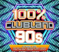 Artistes Divers - Clubland 100% 90s Neuf 4xCD