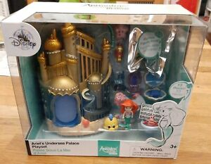 Disney Store Animator's Collection Littles Ariel's Undersea Palace Playset NIB