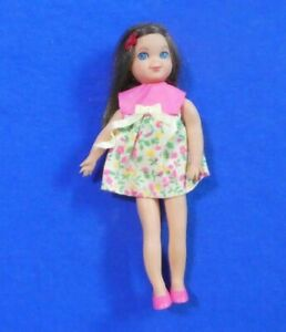 Vintage Barbie Tutti Doll - Vintage 3580 Brunette Tutti Doll
