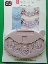 Karen Davies Art Deco Filigree Sugarcraft mould FAST SHIPPING!