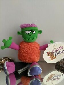 Halloween Jerk Headz Frankenstein Monster Mini Plush Figure Doll The Cuddle Fact