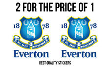 2 x EVERTON FC Sticker one of the best team in the world 110mm high