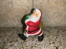 Hallmark Merry Miniature Christmas Santa 1983 Rooftop Deliveries Figurine # S8
