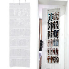 Schuhregal Schuh Tasche Türhängeregal Etui Tür Türregal Aufhängen für 24Schuhe.