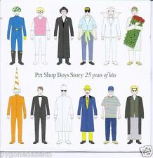 PET SHOP BOYS STORY  25 YEARS OF HITS The Mail On Promo CD FREE UK POST!