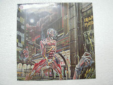 IRON MAIDEN SIT SOMEWHERE IN TIME STEREO RARE LP record vinyl INDIA INDIAN EX/EX