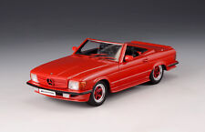 "Mercedes Benz AMG R107 Roadster ""Red"" 1980 (GLM Models 1:43 / 206101)"