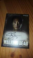 The Walking Dead - A4 - Trading Card - Autograph - Glenn - Steven Yeun