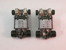 """LIFE-LIKE LIGHTED """"T"""" CHASSIS ~ 2 PC ~ NEW REAR SILICONES ~ WORKING HEADLIGHTS"""