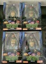 "NECA Ninja Turtles (GameStop Exclusive) 7"" Figure (Set of 4) 90s Movie TMNT New*"
