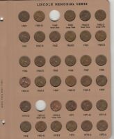 131 coin set, Collection  Lincoln memorial cents 1959 to 2017 no Dansco Lot 40