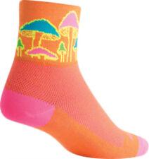New SockGuy Trippin Sock: Orange SM/MD