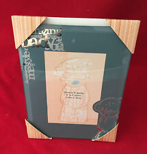ME TO YOU BEAR TATTY TEDDY AMAZING DAD GLASS PHOTO PICTURE FRAME BEAR GIFT