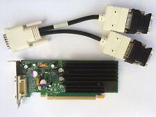 SFF DUAL HP 430956-001 430965-001 NVS 285 P383 128MB PCIE DVI/VGA SPLITTER WIN 8