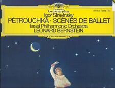 Stravinsky Petrouchka Scenes de Ballet Bernstein Israel Phila DG