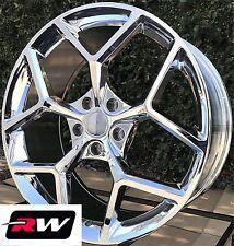 "20"" inch Chevy Camaro OE Factory Replica Z28 Wheels 5623 5624 Chrome Rims 20x9"""