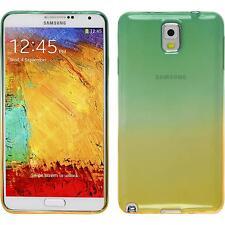 Silicone Case for Samsung Galaxy Note 3 Ombrè Design:03 + protective foils