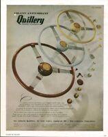 Publicité ancienne volant antivibrant Quillery 1950 issue de  magazine