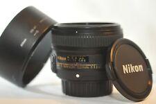 Nikon AF-S NIKKOR 50mm f/1.8 G SWM SIC PRIME Lens HB-47 for D7200 D810 D750 DF