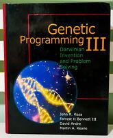 Genetic Programming III: Darwinian Invention and Problem Solving by John R Koza!