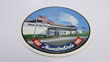 "Usaf Thunderbirds 1990 Sticker Decal 6"""