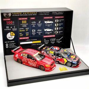 Classic 18599 1:18 Craig Lowndes 100 ATCC/V8 Supercar Race Wins Twin Set Limited