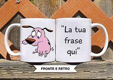 Tazza ceramica LEONE CANE FIFONE 3 FRASE PERSONALIZZATA  ceramic mug