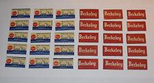 Vintage Safety Razor Blades Double Edge (Berkely, Wards) Lot of 30  #RZ02