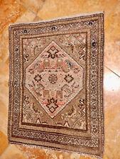 Antique Oriental Estate Rug Hamadan Carpet Circa 1920