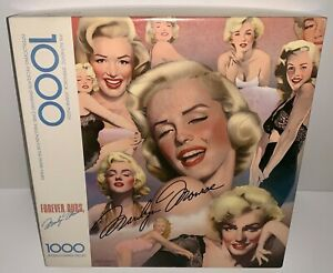 Marilyn Monroe Forever Ours Vintage Jigsaw Puzzle 1000 Pieces New & Sealed 1986
