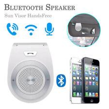 Bluetooth 4.1 Freisprecheinrichtung Car Kit Lautsprecher Sonnenblende Weiß
