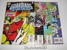 Guardians Of The Galaxy #56-59 Comic Marvel 1995 57 58 Silver Surfer Starhawk