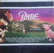 Babe Letterboxed Edition Laser Disc