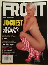 JO GUEST - FRONT Magazine #37 Nov 2001 - BRAND NEW - EMILY BOOTH - BJORK