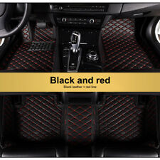 Floor Mats For 2009-2018 Dodge Ram 1500 2500 3500 Black&Red FloorLiner Carpets